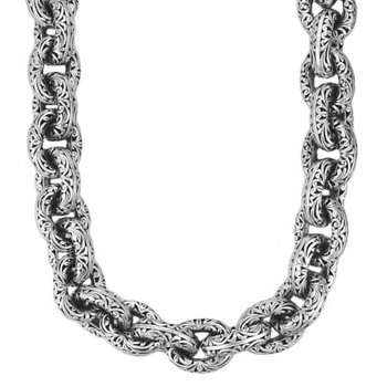 """Chunky Links Necklace Lenght 22"""""""