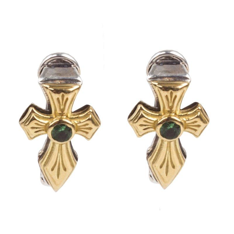 Konstantino Cross Earrings