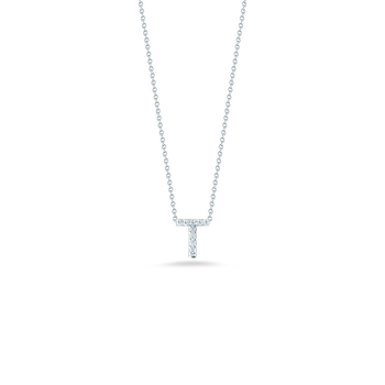"Love Letter T Necklace Length 16"" adjustable to 18"""