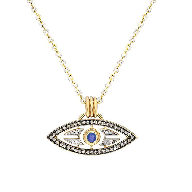 ITA Carbbean Eye Pendant - Chain Not Included