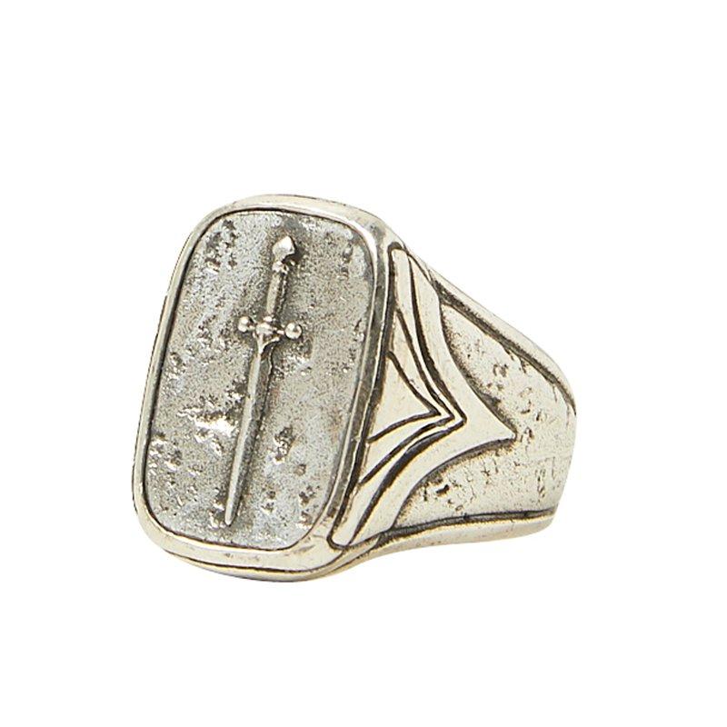 JOHN VARVATOS Dagger Ring Size 10