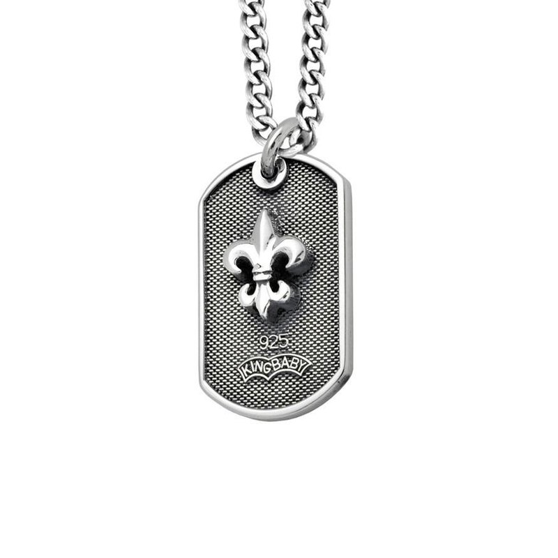 """KING BABY DogTag Necklace 24"""""""" Length"""