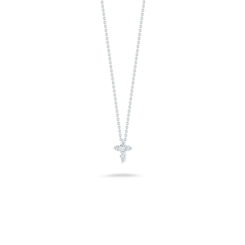 "Baby Cross Necklace Length 16"" adjustable to 18"""