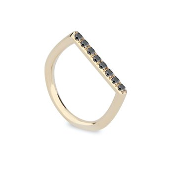 Stacking Square Ring Size 7