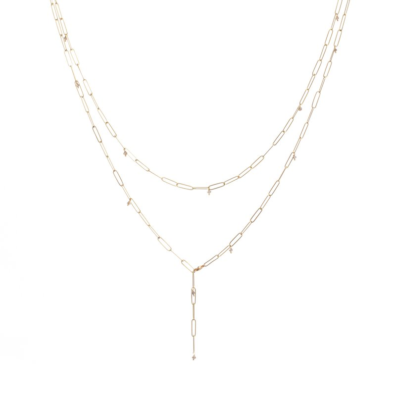 "Lene Vibe Chain Necklace 18"" Length"