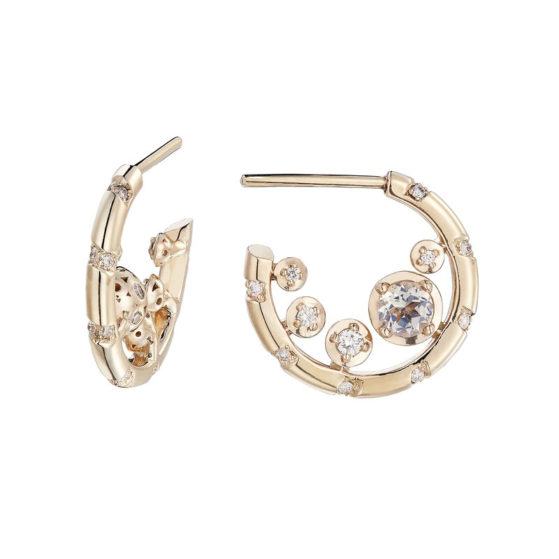 Alice Cicolini Hoop Earrings