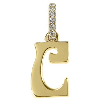 Initial Letter C Charm