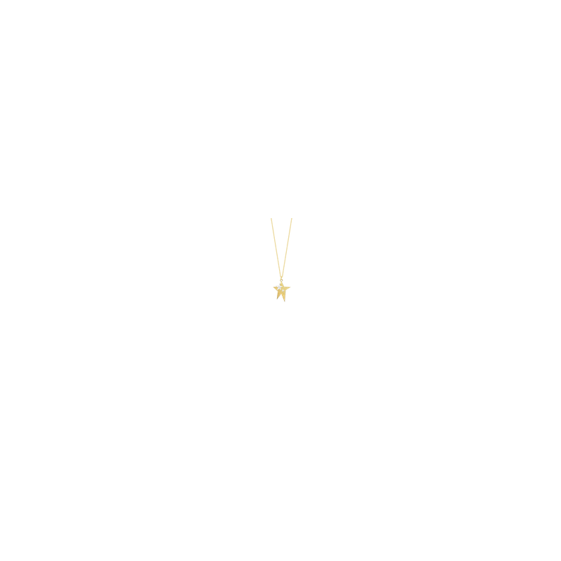 """Luisa Rosas Star Necklace Length 171/2"""" adjustable to 191/2"""""""
