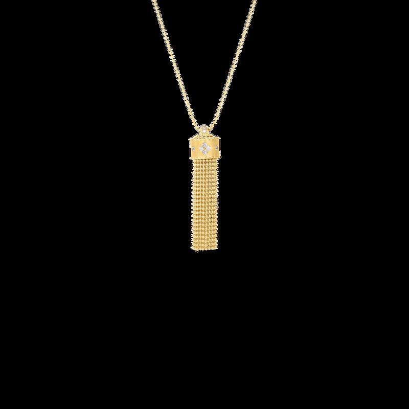 Roberto Coin Pendant Chain Necklace 33'