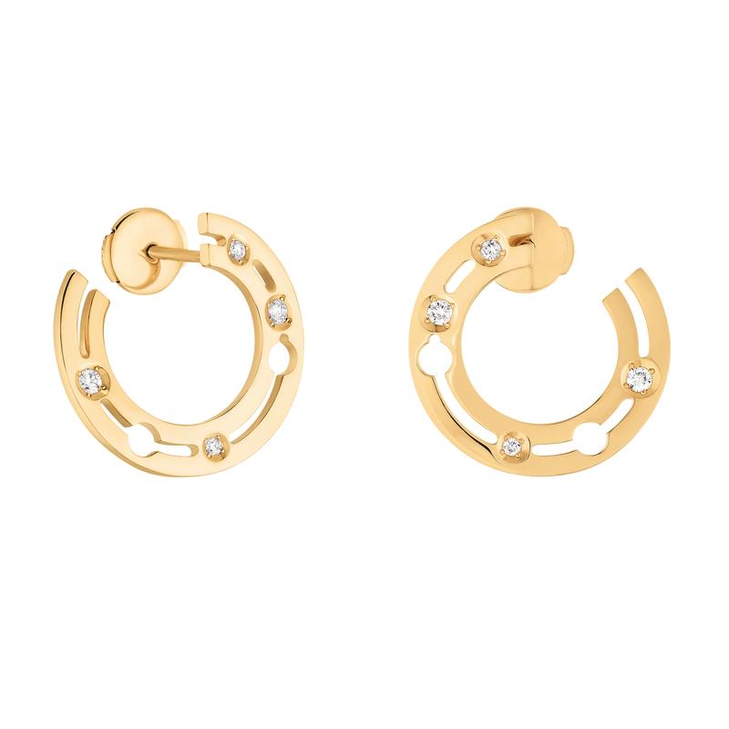 Dinh Van Hoop Earrings Size 18mm