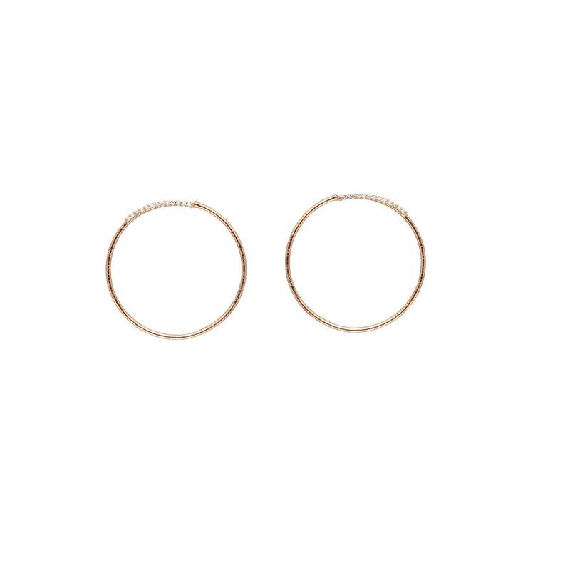 Mattia Cielo Hoop Earrings
