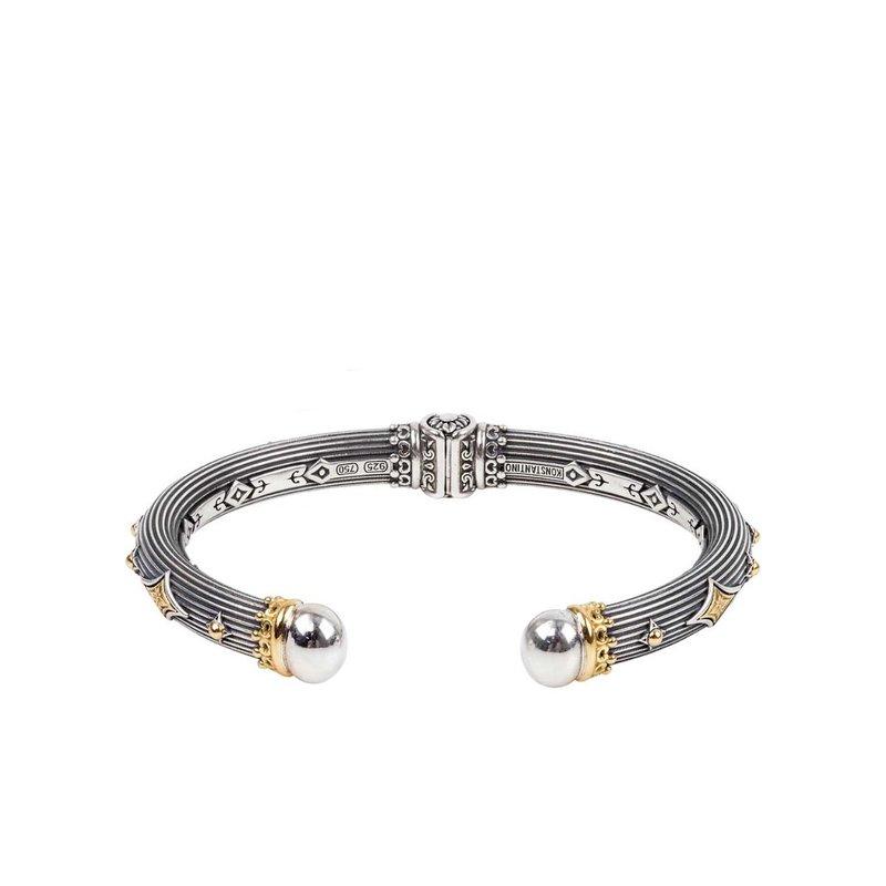 Konstantino Hinged Bracelet Size Small