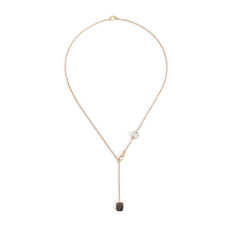 Pomellato Lariat Necklace Length 18""