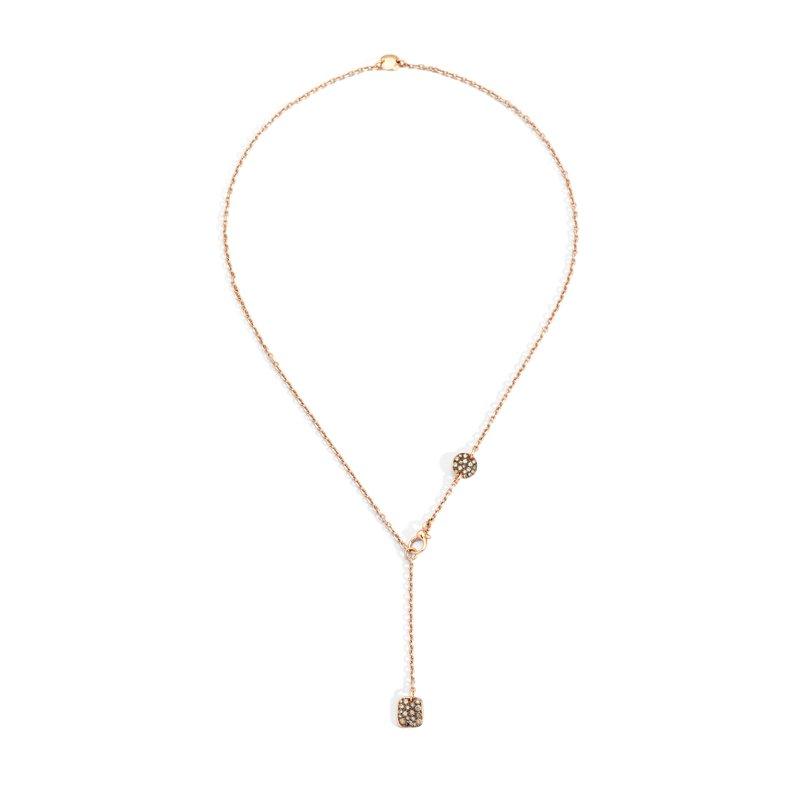 "Pomellato Lariat Necklace Length 18"""