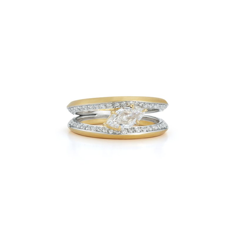 Jade Trau Solitaire Ring Size 6.5
