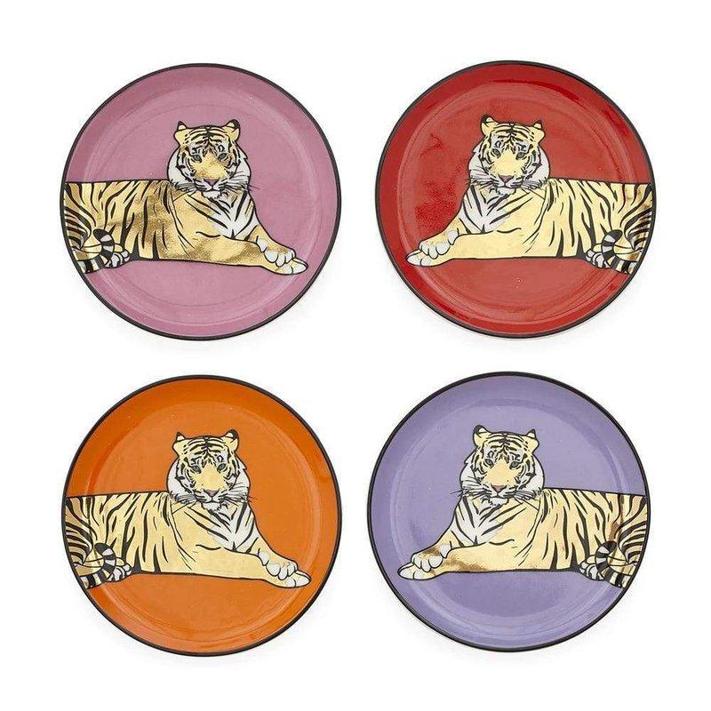 JONATHAN ADLER Safari Coasters Set Of Four
