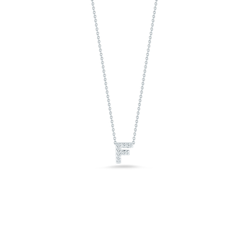 "Love Letter F Necklace Length 16""adjustable to 18"""