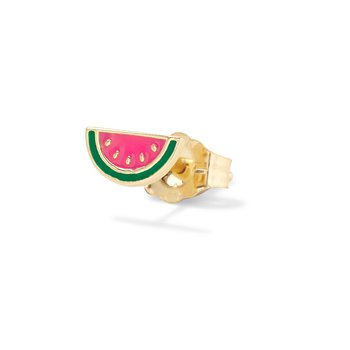 Watermelon Single Stud Earring