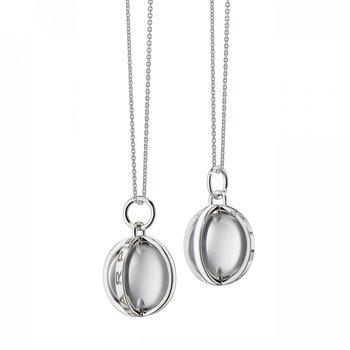 Carpe Diem Charm Cable Chain Necklace