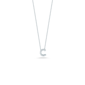 "Letter C Necklace Length 16""adjustable to 18"""