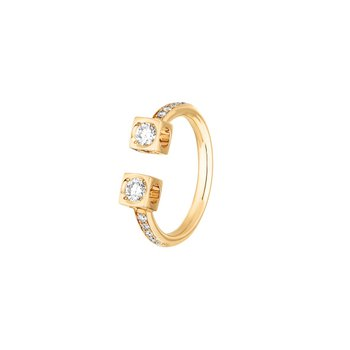 Large Double Cube Ring Size 6.5
