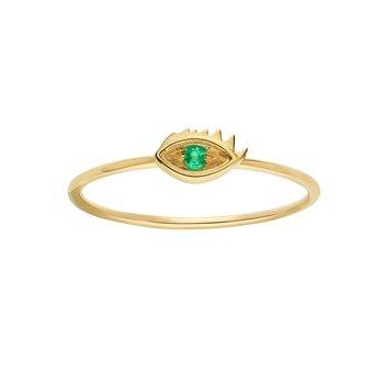 Evil Eye Ring Size 7