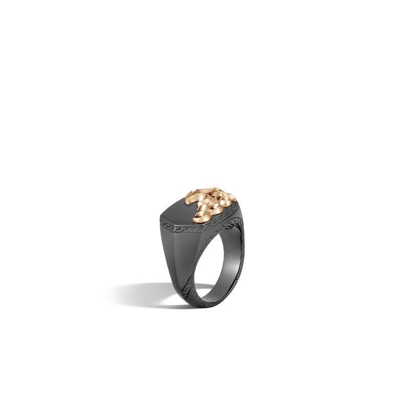 John Hardy Signet Ring Size 11