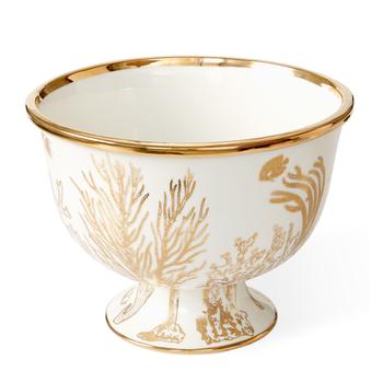 Botanist Coarl Center Piece Bowl