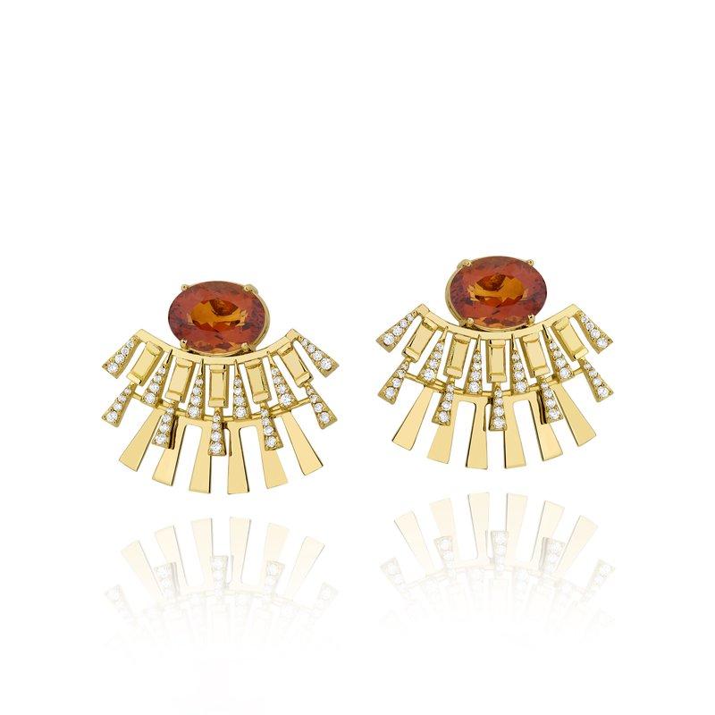 Carol Kauffmann Clip Earrings