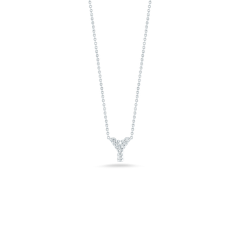 "Love Letter Y Necklace length 16"" adjustable to 18"""