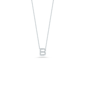 """Love Letter B Necklace Length 16"""" adjustable to 18"""""""