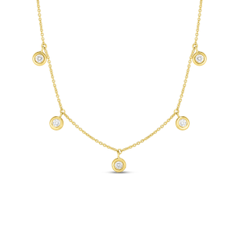 Dangling Five Station Necklace