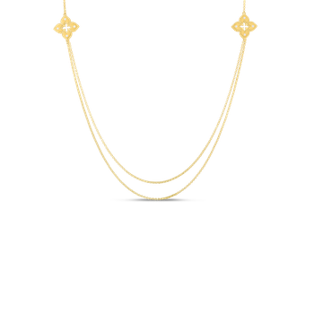 """Long Station Necklace Length 33"""""""