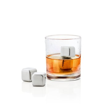 Set Of Four Ice Cubes