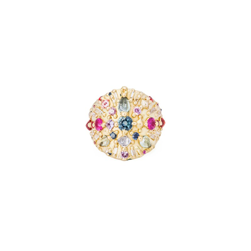Polly Wales Shield Ring