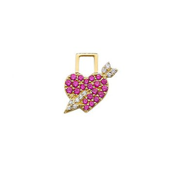 Cupid Heart Charm