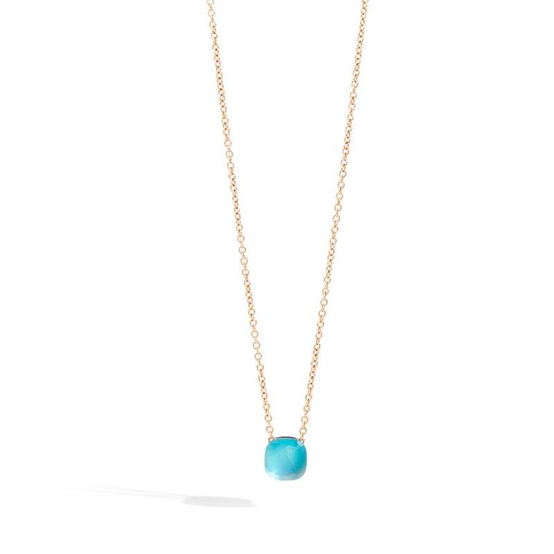 Pomellato Pendant With Chain Necklace
