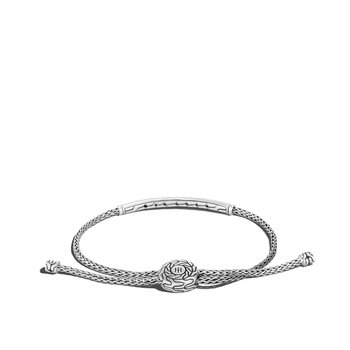 Mini Chain Pul Through 2.5mm Bracelet Size Medium-Large