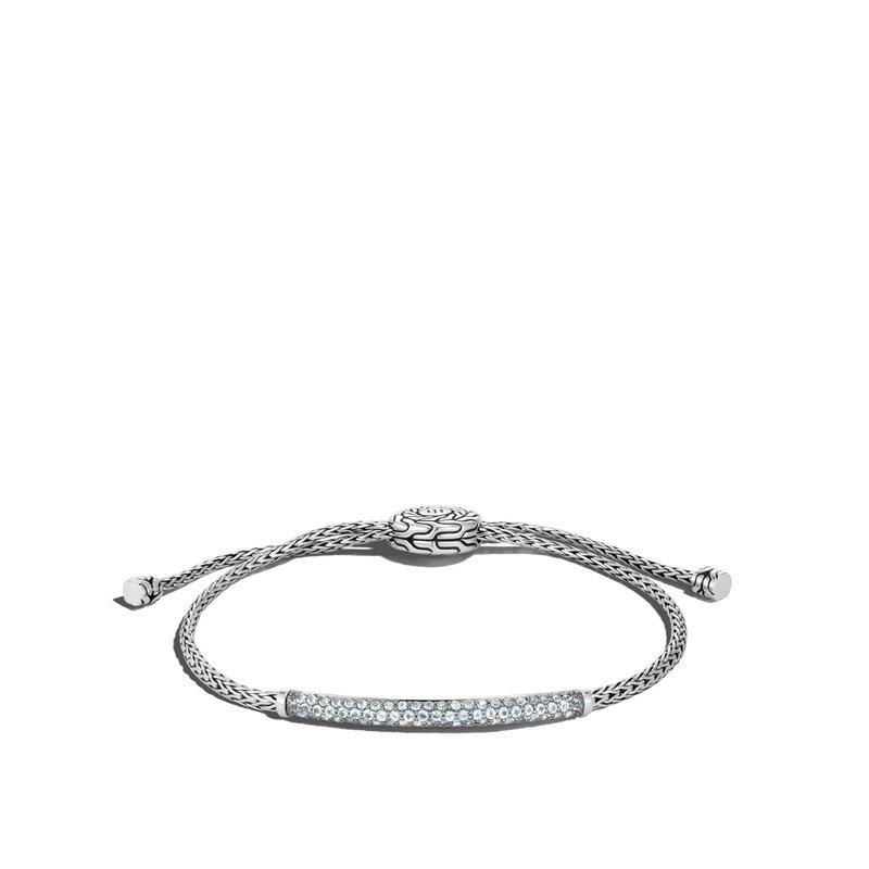 John Hardy Mini Chain Pul Through 2.5mm Bracelet Size Medium-Large