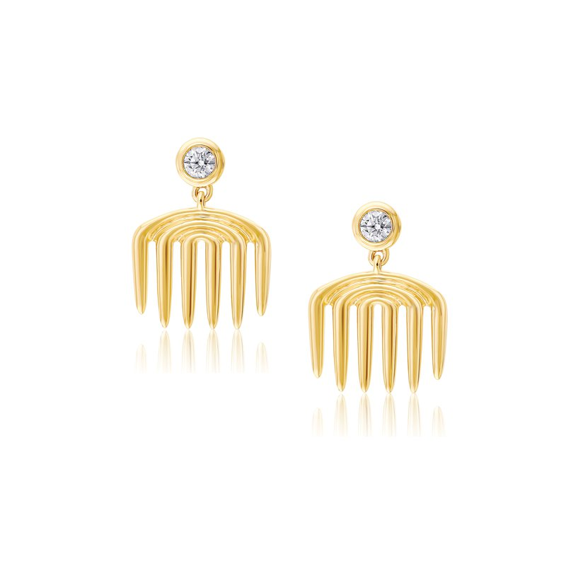 Almasika Vice Comb Earrings