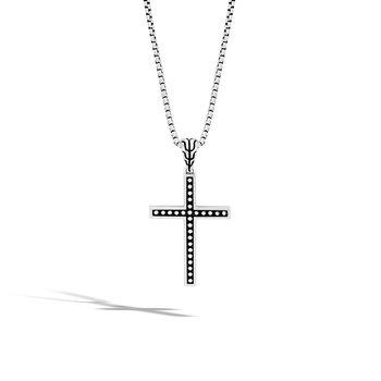 "Jawan Cross Necklace 1.6mm Length 20"""