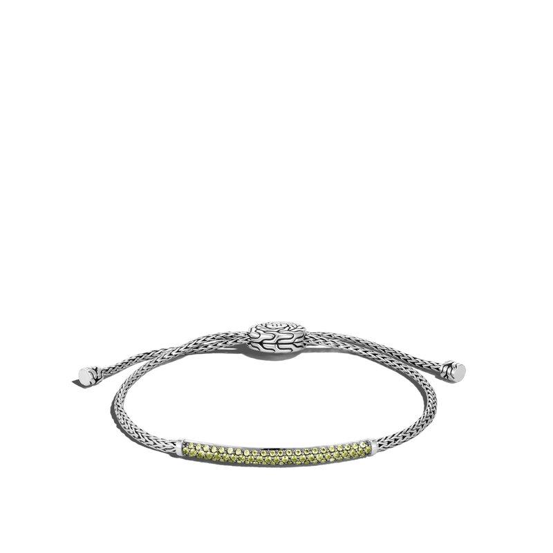 John Hardy Pull Through Bracelet Size Medium adjustable to Large