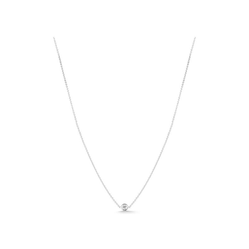 """Roberto Coin Single Station Necklace Length 16"""" adjustable to 18"""""""