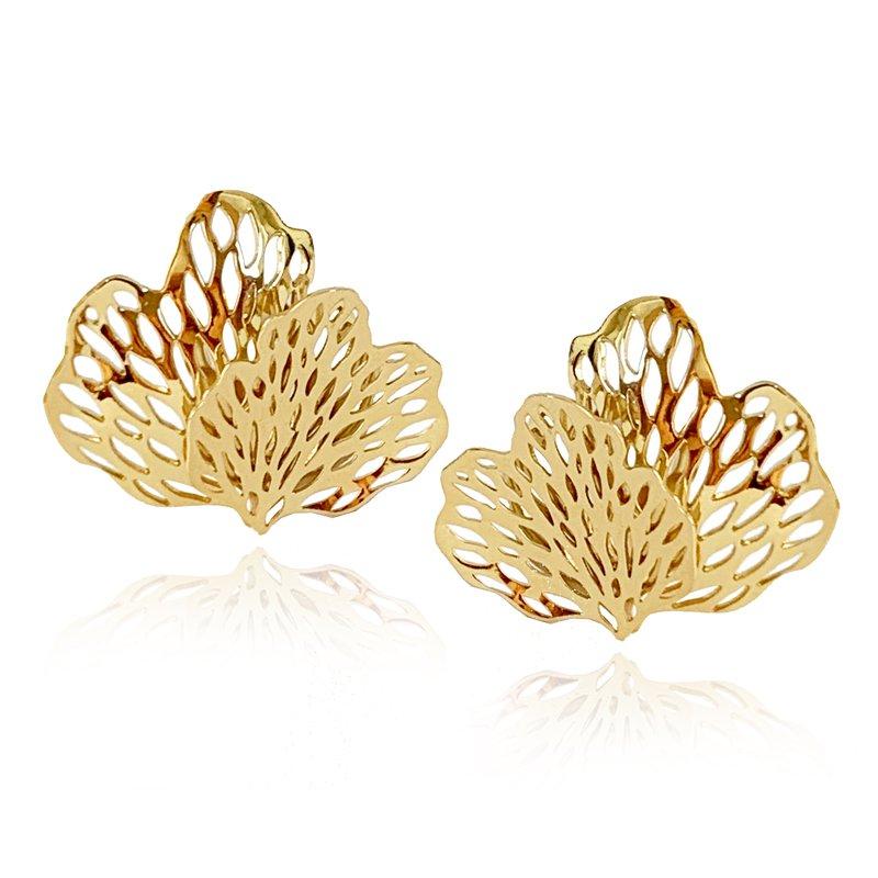 Carol Kauffmann Petals Earrings