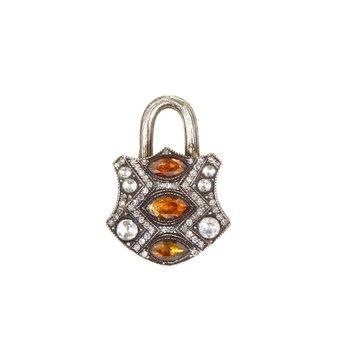 Medium Shield Lock Pendant