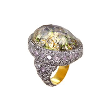 Istanbul Day/Night Seascape Ring Size 8