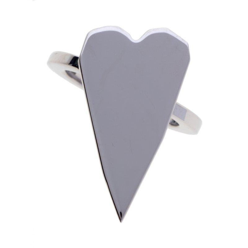 Franco Pianegonda Small Heart  Ring Size 7