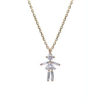 Girl Necklace Adjustable
