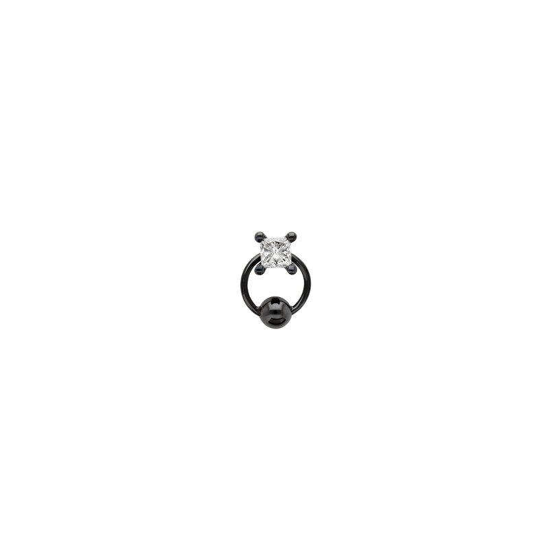 Delfina Delettrez Single Princess Earring