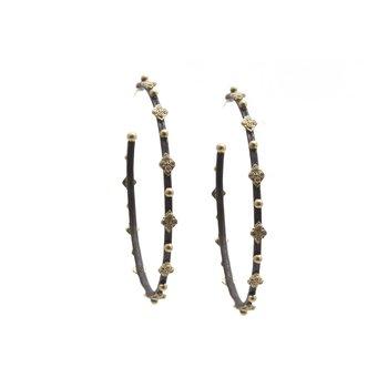 Hoop Earrings Diameter 52mm